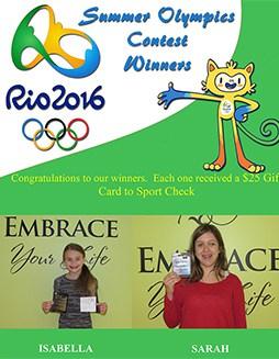olympics contest winners small