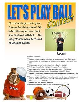 Ball Contest Winner