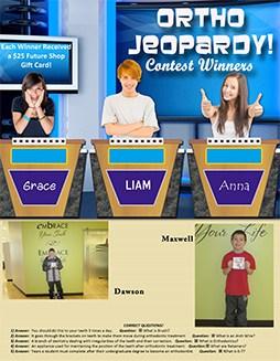 Ortho Jeopardy Contest Winner