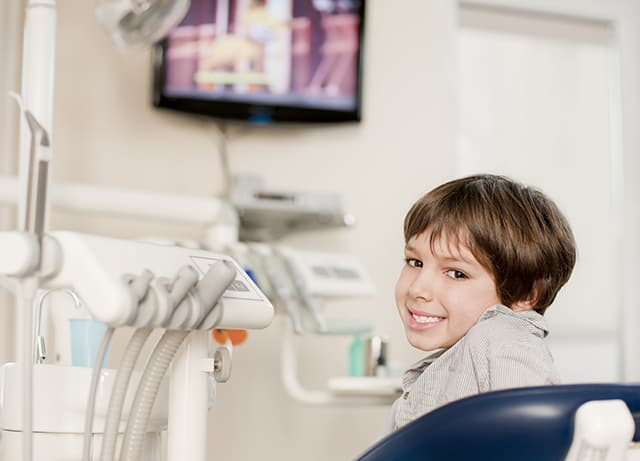 first visit to an orthodontist
